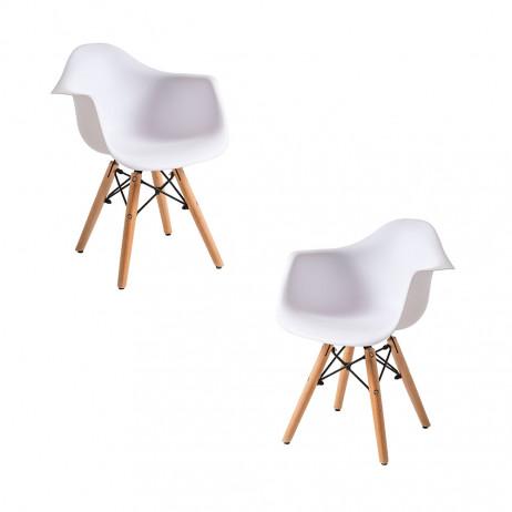 Pack 2 Cadeiras Dau Kid (Infantil) - 1