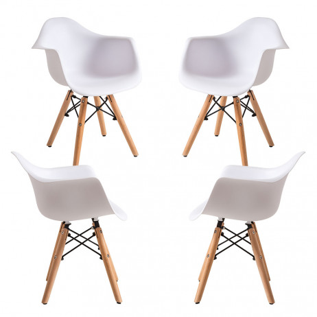 Pack 4 Cadeiras Dau Kid (Infantil) - 1