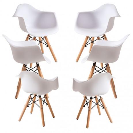 Pack 6 Cadeiras Dau Kid (Infantil) - 1