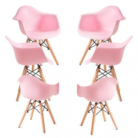 Pack 6 Cadeiras Dau Kid (Infantil)