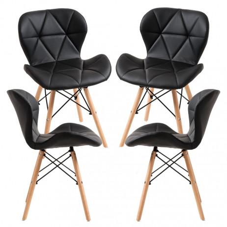 Pack 4 Cadeiras Dreck