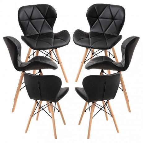 Pack 6 Cadeiras Dreck - 1