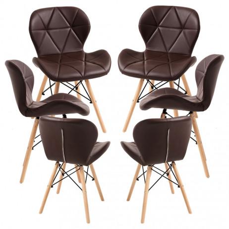 Pack 6 Cadeiras Dreck