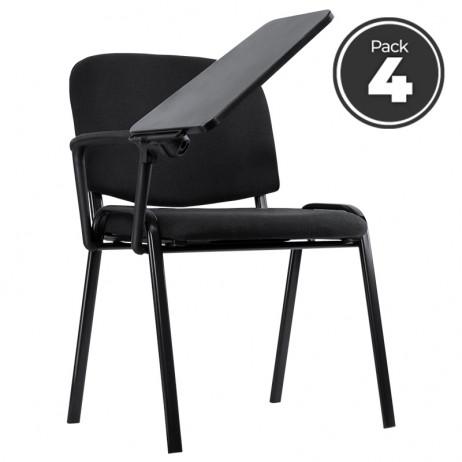Pack 4 Cadeiras Ofis com Carteira - 1