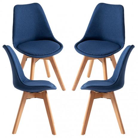 Pack 4 Cadeiras Synk Tecido - 14