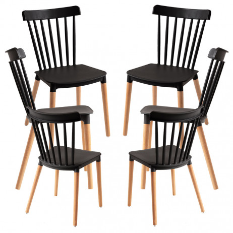 Pack 6 Cadeiras Leka