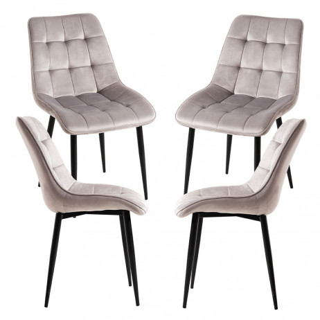 Pack 4 Cadeiras Cade - 1