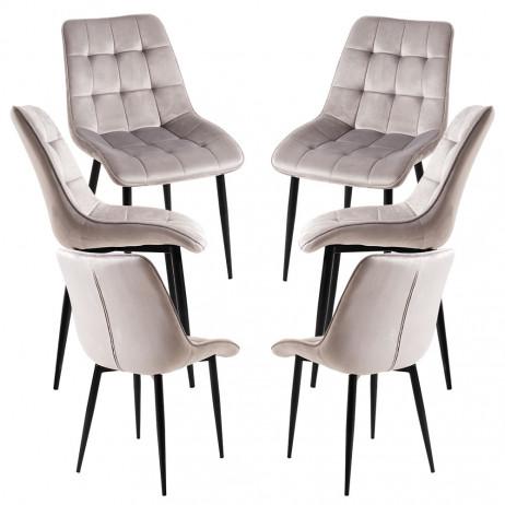 Pack 6 Cadeiras Cade - 1