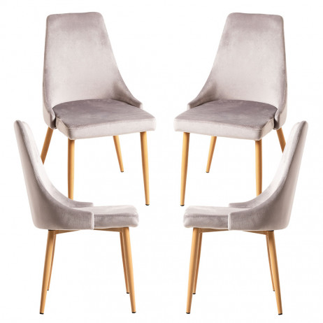 Pack 4 Cadeiras Stoik Wood - 1