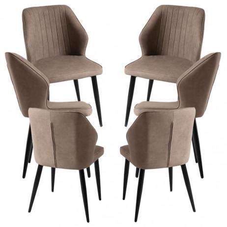 Pack 6 Cadeiras Wenye - 1