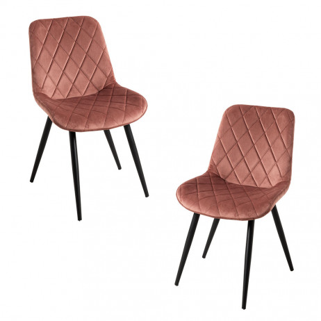 Pack 2 Cadeiras Min Veludo - 1