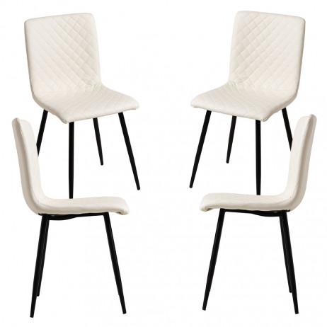 Pack 4 Cadeiras Rom Couro Sintético - 1