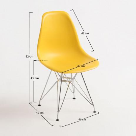 Cadeira Tower Metálica - 21