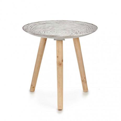 Decoração de mesa de madeira em...