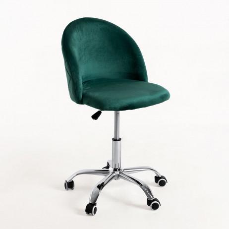 Cadeira Vint Veludo Office