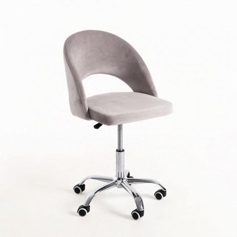 Cadeira Hole Veludo Office