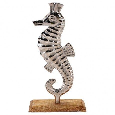 Cavalinho-do-mar Prata Nemo de Alumínio 34 cm