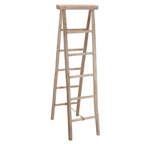 Toalheiro Escada Wit de Madeira 160 cm