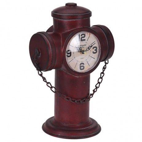 Rélogio de Mesa Pier 22 x 15 x 32 cm - Relógios Decorativos