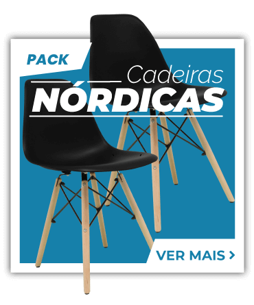 Packs de Cadeiras Nórdicas