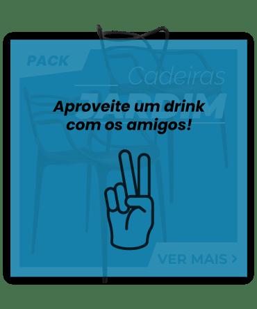 Aproveite um drink com os amigos!