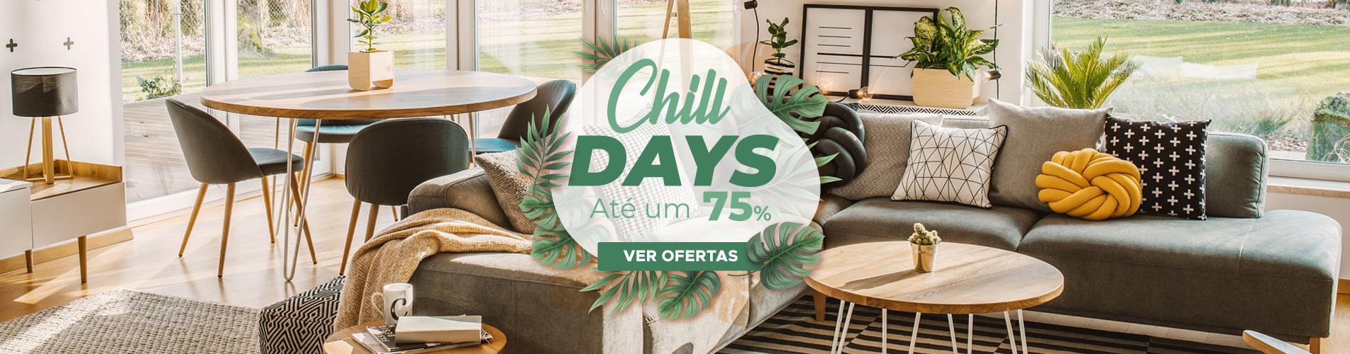 A Chill Days estão aqui: ofertas de verão refrescantes. Não o perca!