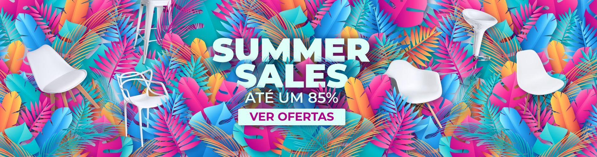 As Summer Sales estão aqui: ofertas de verão refrescantes. Não o perca!