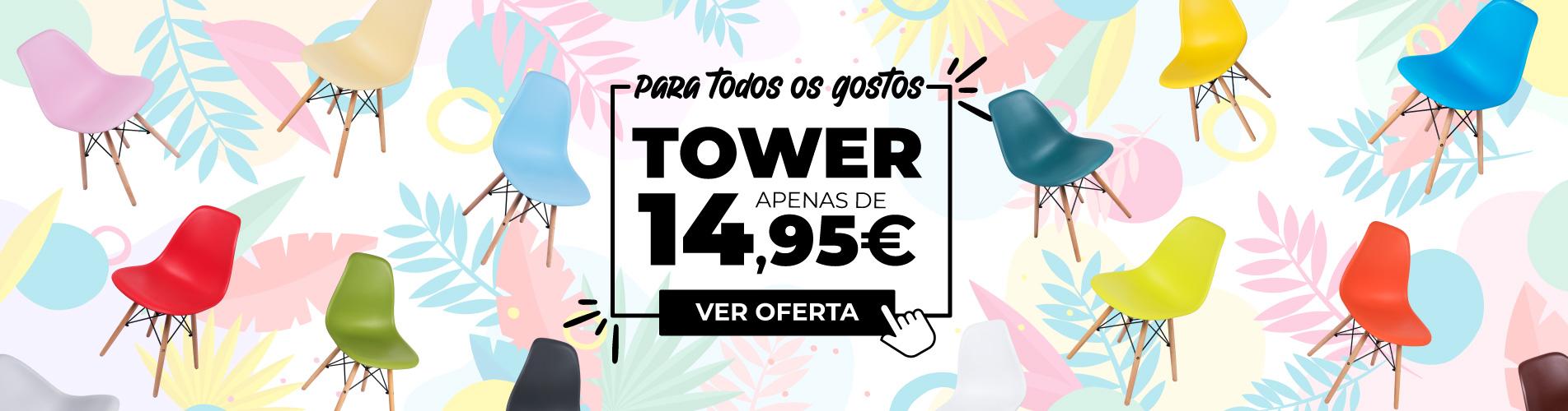 As Mundo Tower estão aqui: ofertas de verão refrescantes. Não o perca!